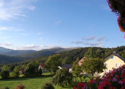 Ausblick vom Draxlerhof