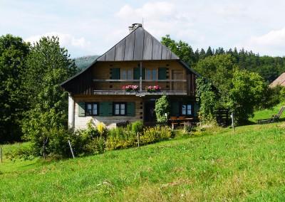 Das Draxlerhäusl im Bayerischen Wald