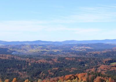Herbst Bayerischer Wald Waldhäuser
