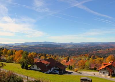Waldhäuser Bayerischer Wald Herbst