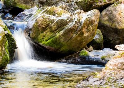 Wandern in der Steinklamm Bayerischer Wald