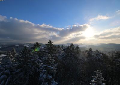 Wandern Winter Bayerischer Wald